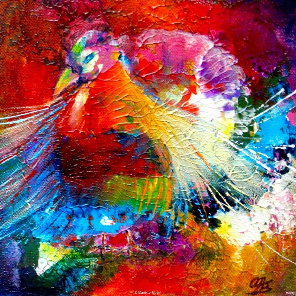 Paradijsvogel 3, drieluik