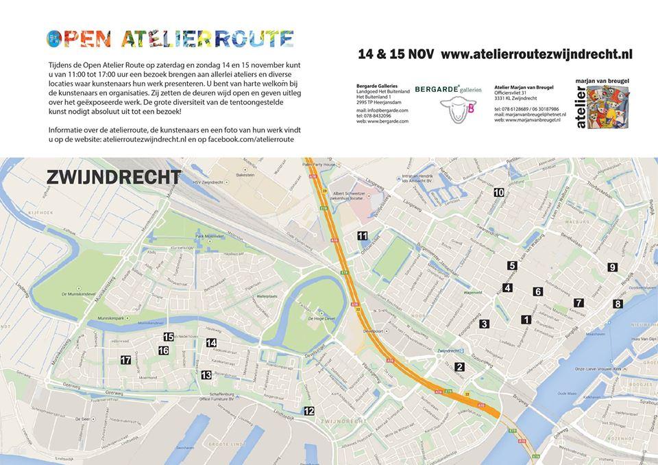Open Atelierroute Zwijndrecht 2015
