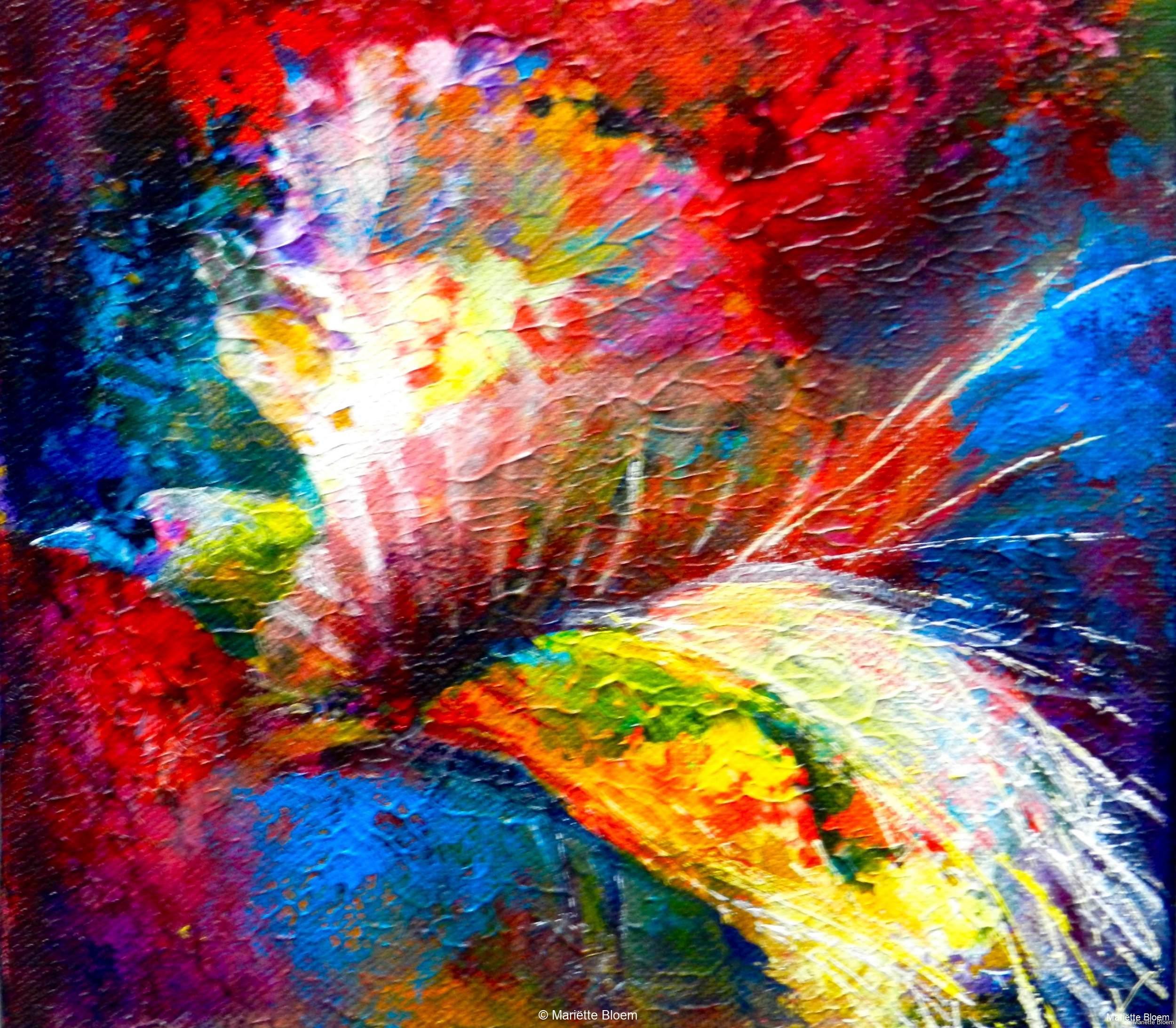 Paradijsvogel 2, drieluik